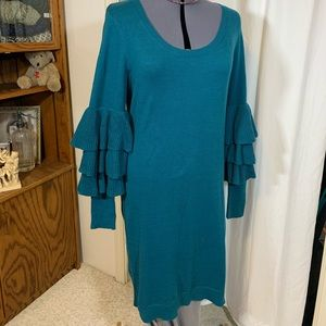 NWT Wendy Williams Size L fun funky sleeves